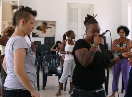 Las Krudas, agrupación cubana de hip hop