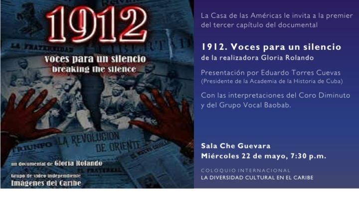 Invitación a 1912