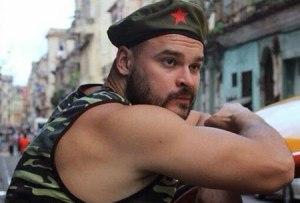 El lider extremista en La Habana, diciembre 2013
