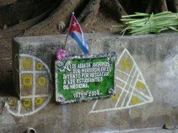 Abakuás conmemoran el fusilamiento de los estudiantes deMedicina