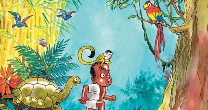 Ilustración de Hugo Díaz, para una de las ediciones de Cocorí. Tomado de juliaardon.net